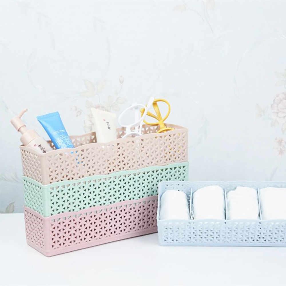 5 ячеек пластиковый органайзер коробка для хранения галстук бюстгальтер носки ящик косметический Органайзер для дома спальни хранения дропшиппинг Apr30