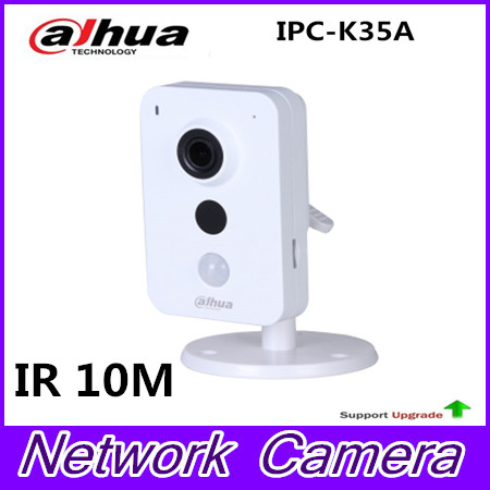 Newest Brand IPC-K35A 3MP K Series PoE Network Camera DC12V PoE IP Camera IR Diatance 10m Support SD Card and Onvif Security cam
