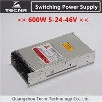 500W Cnc Router Switching Power Supply Ajustable 5V 24V 46V Stepper Motor Power