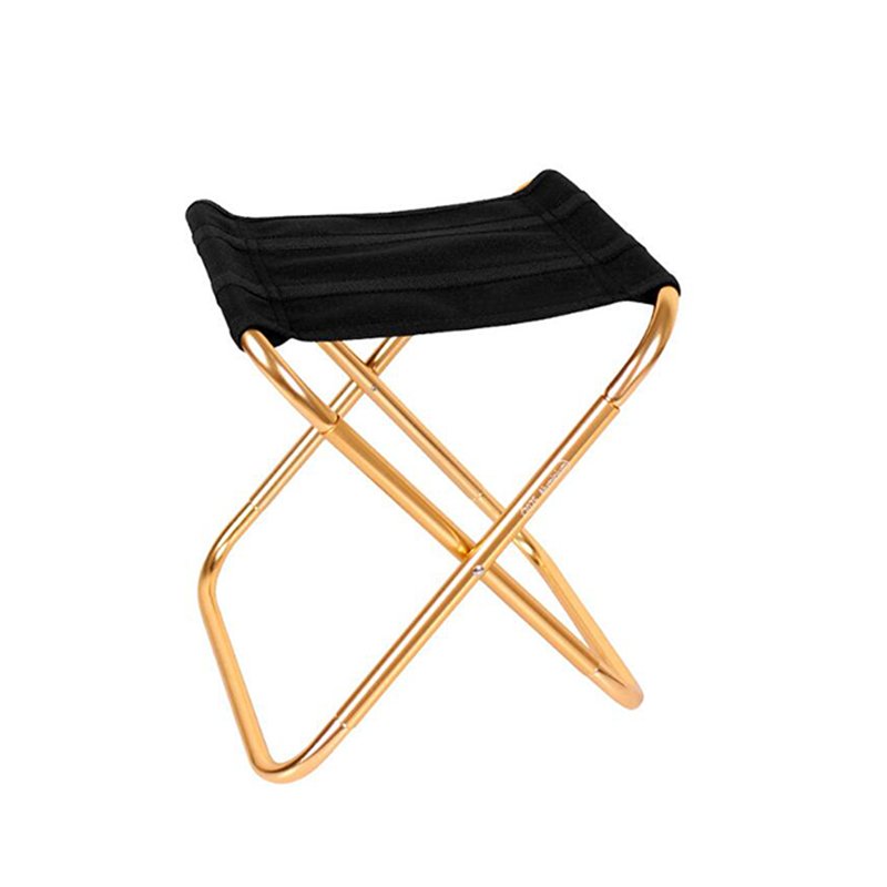 Gold Mini folding chair for outdoor use for hiking, fishing, camping, BBQ etc.Gold Mini folding chair for outdoor use for hiking, fishing, camping, BBQ etc.