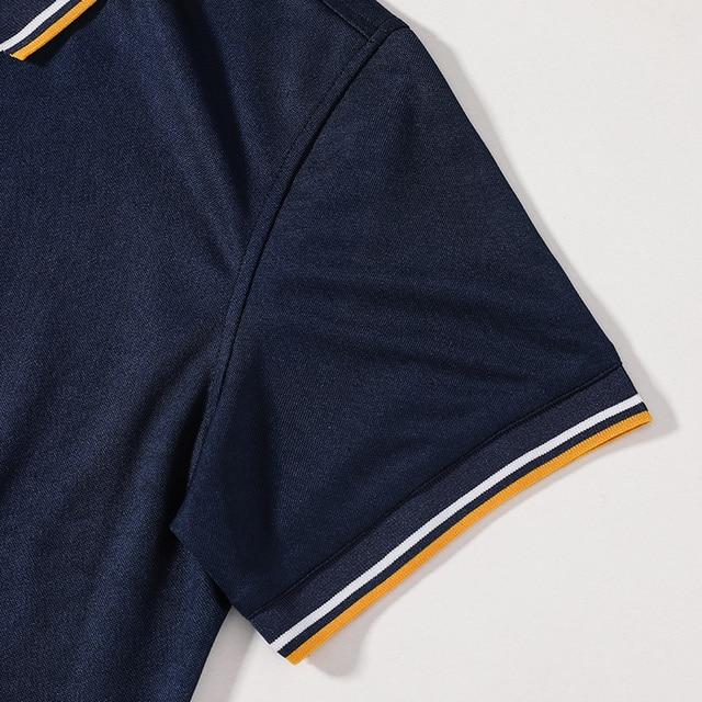 Nouvelle marque POLO chemise hommes boutique broderie respirant à manches courtes décontracté Polos hommes homme grande taille 6XL 7XL 8XL vêtements 4