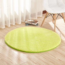 SandyFloyd Round Mat Living Room Bedroom Carpet Hanging Basket Computer Chair Yoga Solid European and American Style New