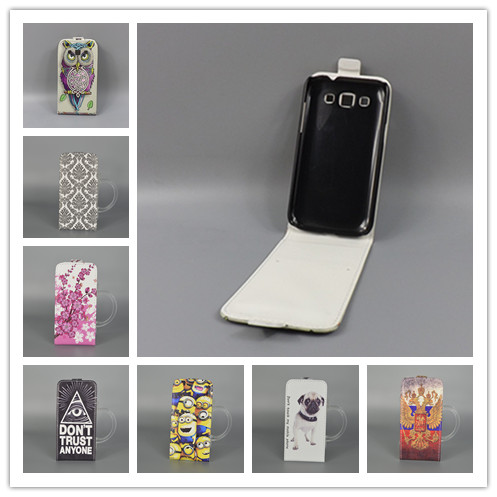 For Samsung Galaxy Win i8552 8552 GT i8550 Hot Pattern Cute PrintingVertical Flip Cover Open Down/up Back Cover filp leathercase ...