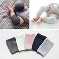New cotton summer bebê engatinhar joelheiras crianças anti derrapante necessário protetor de joelho aquecedores do pé do bebê 1 par