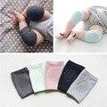 Nueva algodón summer bebé protector de la rodilla rodilleras niños antideslizante crawl necesario bebé calentadores de la pierna 1 par