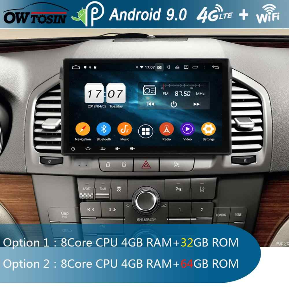 Android 9.0 IPS 8Core 4G di RAM 64G ROM Car DVD Player Radio GPS Per Opel Vauxhall holden Insignia 2008-2013 DSP CarPlay ADAS