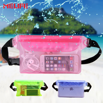 UMLIFE Outdoors Swimming Bags Waterproof Shoulder Sports Bag Underwater Dry Storage Phone Pocket Drifting Diving Waist Pouch