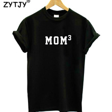 MOM 3 Letters Women tshirt Cotton Casual Funny t shirt For Lady Yong Girl Top