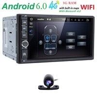7 Quad Core Pure 2 Din Android 6 0 AutoRadio Car NO DVD Player Car PC