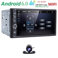 7 Quad Core Pure 2 Din Android 6 0 AutoRadio Car NO DVD Player Car PC