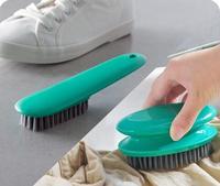 Ev ve Bahçe'ten Temizlik Fırçaları'de Ev Yıkama Fırçası Yumuşak Temizlik Araçları Çamaşır Fırçası 2 adet/grup Çok fonksiyonlu Ayakkabı Fırçası