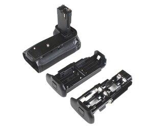 Image 5 - JINTU pil yuvası güç Canon EOS 70D 80D DSLR kamera + 2 adet şarj LP E6 pil kiti yedek BG E14