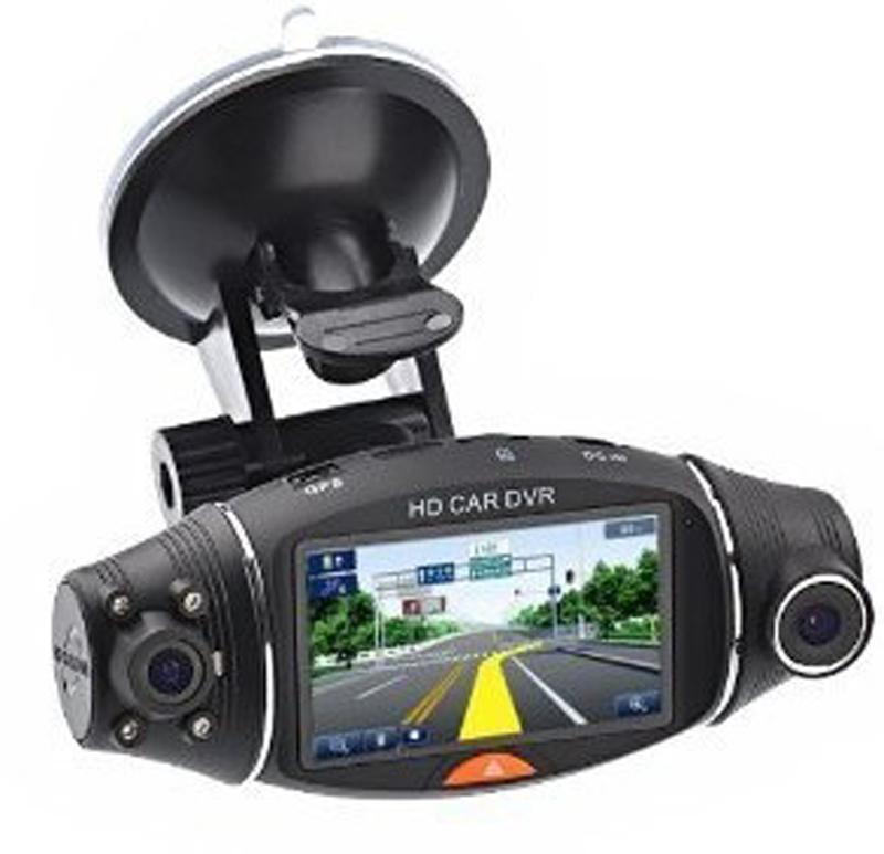 """Prix pour R310 FHD Double Lentille 2.7 """"LCD Affichage HD 720 P Portable Voiture DVR Caméra Vidéo Enregistreur Avec G-capteur Voiture DVR"""