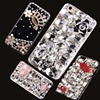 3D Luxury Bling Crystal Camellia Flower Diamond Case Cover For Huawei Mate S Coque Funda Capa