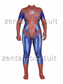 MJ Jamie Spider Costume Mary Jane Girl Cosplay Bodysuit Spandex Lycra Zentai Halloween Party suit free delivery - DISCOUNT ITEM  12% OFF All Category