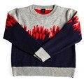 2016 Children Winter Pullover Knitted Warm Sweater Girls Children Sweaters Winter #24