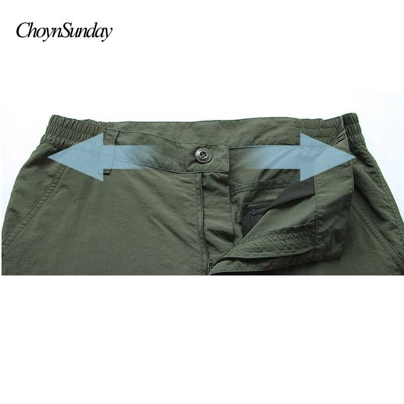 cb35c2c7a32 ... Quick Dry Casual Pants Men Summer Army Military Style Trousers Men s  Tactical Cargo Pants Male lightweight ...