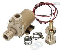 Solar Waterpomp 12/24V DC Hot Water Pomp 3/6M Circulatie Pomp Borstelloze Motor hoge druk pomp Food Grade pomp
