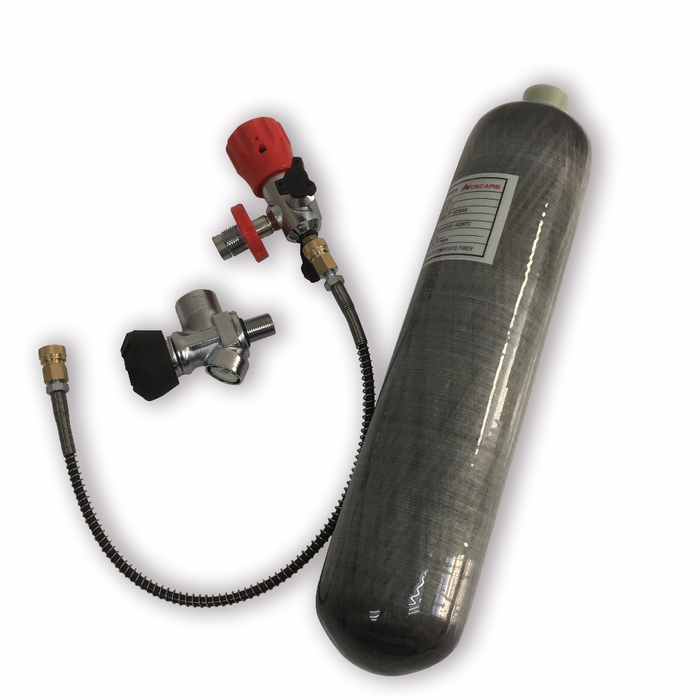 AC102101 Mini 2L High Pressure Cylinder For Compressed Air Guns/Pcp Rifle/Airforce To Hunt 300BAR Tank&Bottle Scuba  For Diving