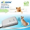 Aosion Pilhas Ultra Chaser Cão Pára de Dissuasão Dispositivo Repeller Animal Dog Trainer Bark Stop