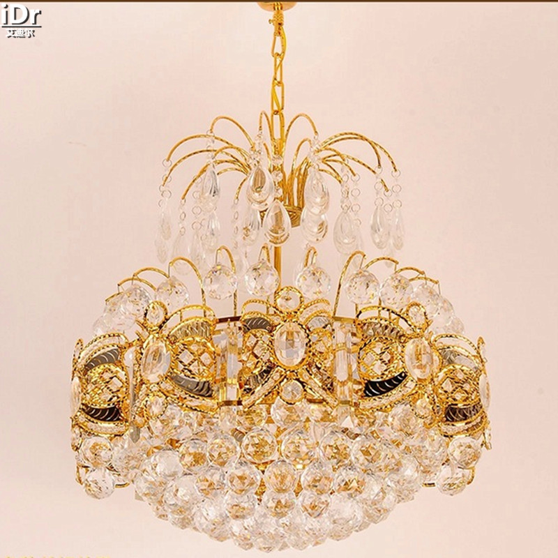 European classic creative crystal lamp living room bedroom restaurant lights LED lights gold Chandeliers Lmy-0193European classic creative crystal lamp living room bedroom restaurant lights LED lights gold Chandeliers Lmy-0193