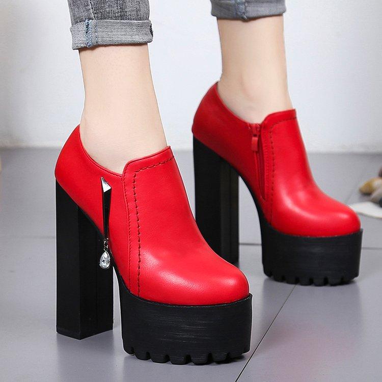 Vestido Clásico Con Mujer Zapatos Boda Cm Negro Punta Rojo Bombas Fiesta 15 Negro Noche De Tacones Damas rojo tnBwYZq6