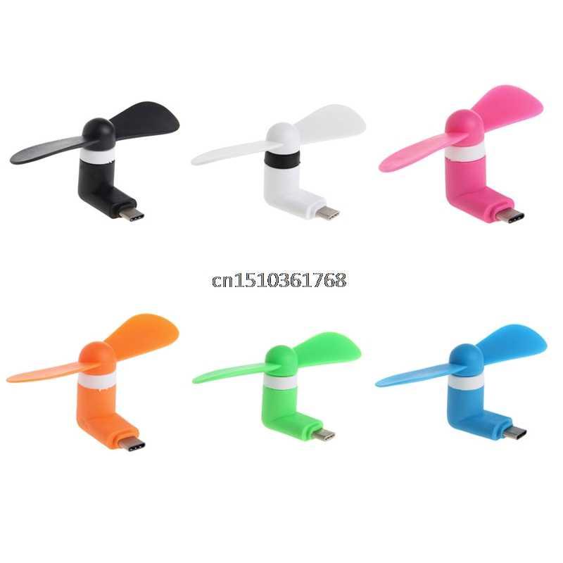 USB Typ C Port Mini Elektrische Phone Fan Kühlung Für OnePlus 2 3 Google Pixel XL # Y05 # # C05 #