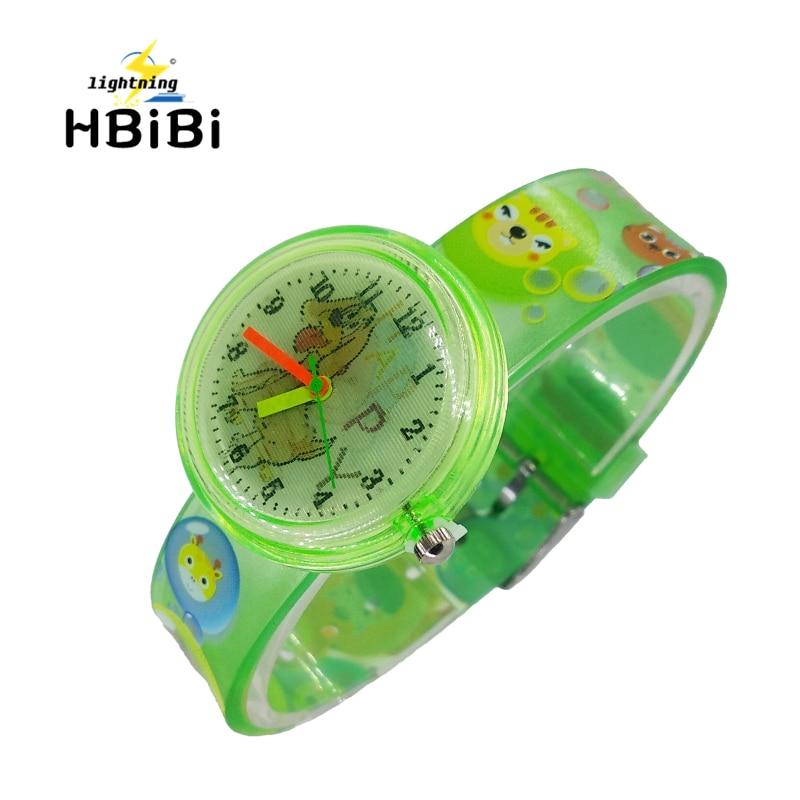 Cartoon Dog Two Patterns Children's Bracelet Watches Kids Fashion Casual Sport Quartz Wrist Watch For Boys Girls Student Clock