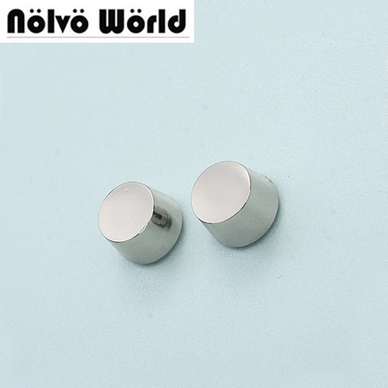 100% copper 12*7mm polished nickel round head rivet screw for bags hardware,high quality rivets accessories,free ship 100% copper die casting 15 11mm tower head studs with screw base for punk bags hardware high quality rivets accessories