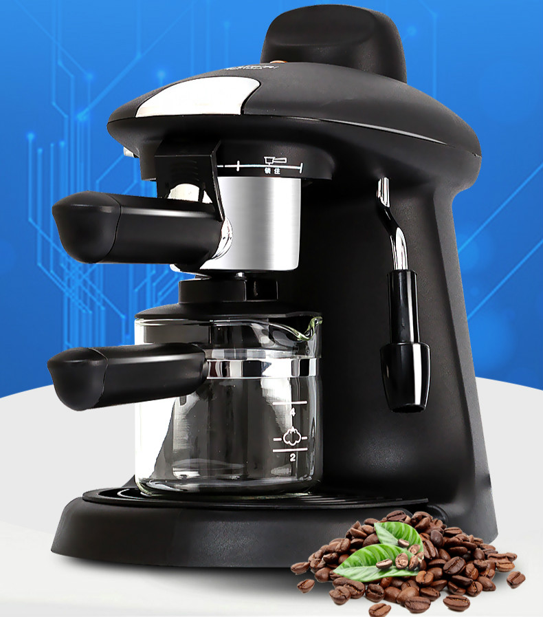 espresso machine semi automatic household coffee pot with high pressure steam Vacuum Coffee Maker