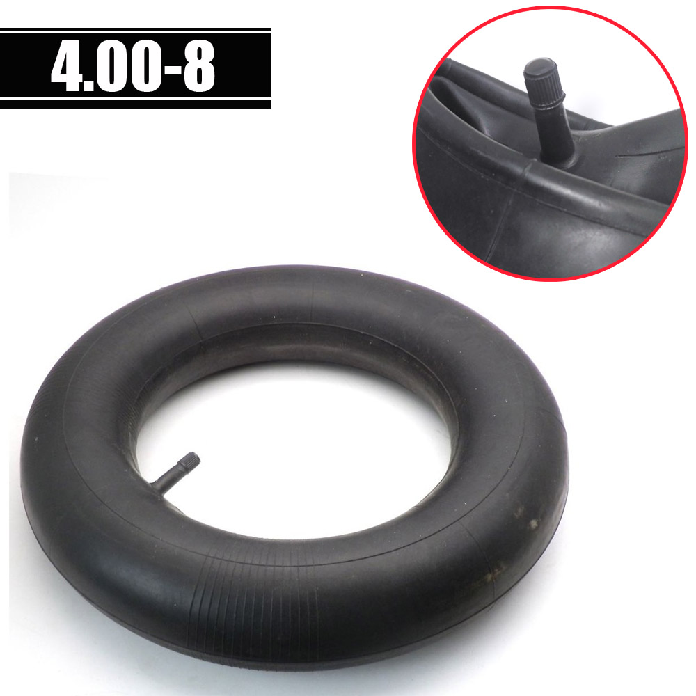 Thicken Tube 4.00-8 INNER TUBE With Straight Valve For Wheelbarrow  Sack Trucks Trolleys Lawn Tractor Tire Tyre