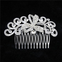 Vintage Bridal Hair Comb Statement Wedding Headpiece Bridal Wedding Hair Accessories Vintage Inspired Hair Comb Free