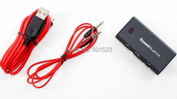 Creative Sound Blaster E1 Portable Headphone Amplifier with