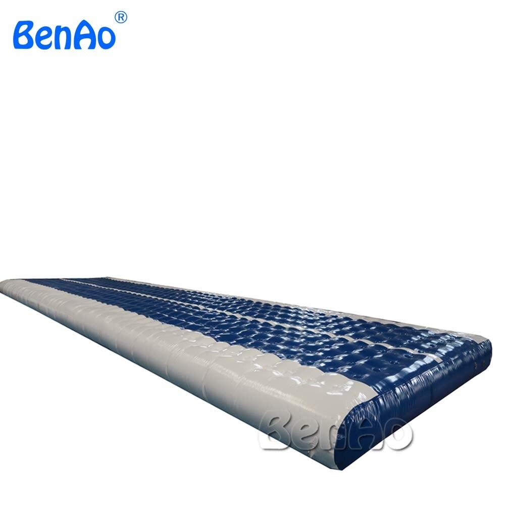 GA020 PVC tarpaulin material inflatable air track gymnastics,good quality inflatable track slip tumble track inflatable air mat