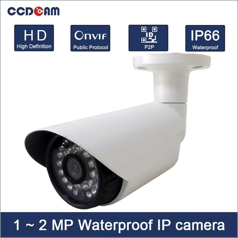 ФОТО Cheap Full HD 1MP 1.3MP 2 Megapixel IP Camera P2P IR Night Vision Onvif Security Camera Outdoor Free Shipping