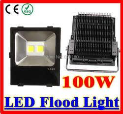 High Power 100 Watt führte Lampe im Freien wasserdichte AC85-265V Dekoration Lampe warmes weißes/kühles Weiß