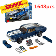 Newtoystechnic Classic 1967 Mustang GT Car Building Blocks Kit Bricks Sets Model Toys Compatible