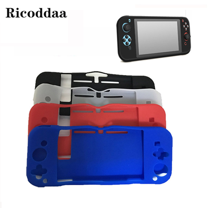 Ricoddaa For Nintend Switch Silicone Case Full Body Protect Cover Anti-Slip Skin For Nintendo Switch Joy-Con Console ControllerRicoddaa For Nintend Switch Silicone Case Full Body Protect Cover Anti-Slip Skin For Nintendo Switch Joy-Con Console Controller
