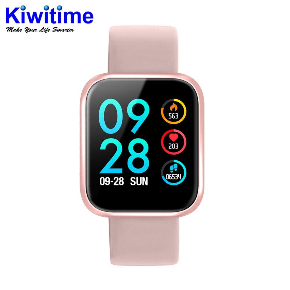 IWO Band 2 P70 P IP68 étanche montre intelligente moniteur de fréquence cardiaque pression artérielle pour ios Android apple iPhone 8 X XS PK IWO 5 6 7-in Montres connectées from Electronique    1