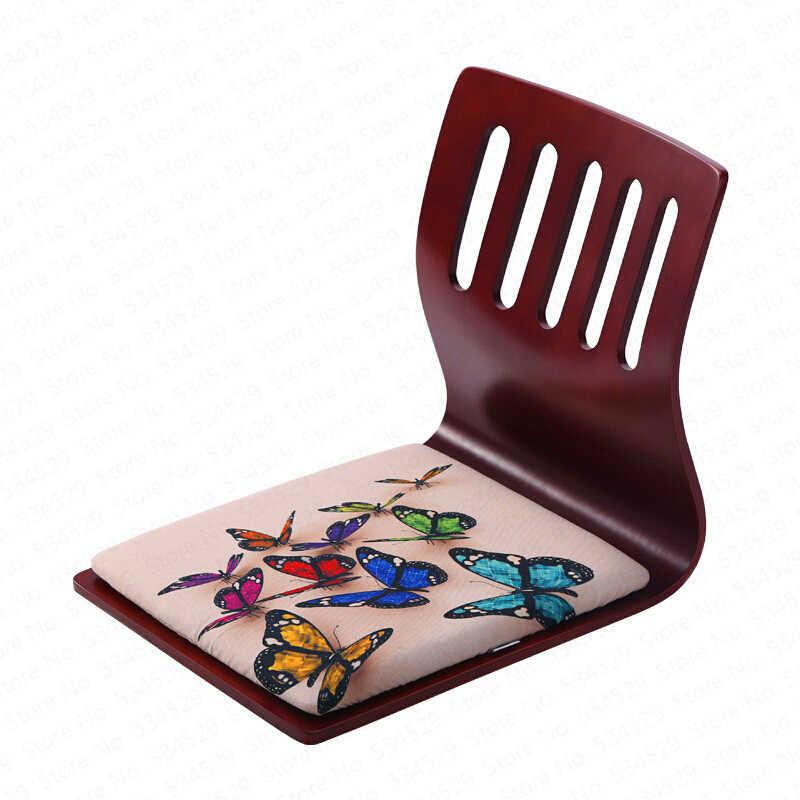 N3B בסלון טרקלין כיסא משענת מפרץ חלון מיטת שרפרף כיסא עצלן יפני סגנון חסר רגליים משחק כיסא מרפסת כיסא