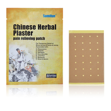 цена на 8pcs/bag Chinese Herbal Plaster Pain Reliving Patch Temporary Relief of Minor Aches&pains Health Care Medical JMN053