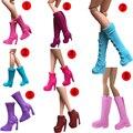 Оригинал 1 пара Кукла Обувь Мода Ассорти обувь для Куклы Барби et002