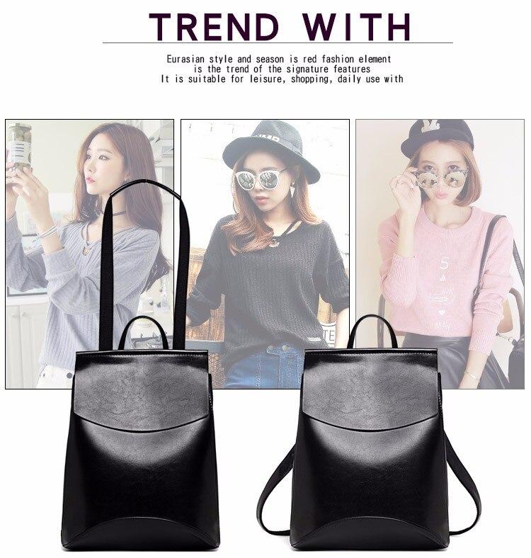 HTB1jWCCamtYBeNjSspkq6zU8VXaY 2018 HOT Fashion Women Backpack High Quality PU Leather Backpacks for Teenage Girls Female School Shoulder Bag Bagpack mochila