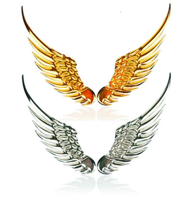 D High Quality Wings Motorcycle Decal Car Or Truck Custom Flying - Custom motorcycle stickers funny