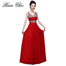 Evening Dress 2019 Floor-length Chiffon Formal Prom Party Gowns Long Evening Dresses цена и фото