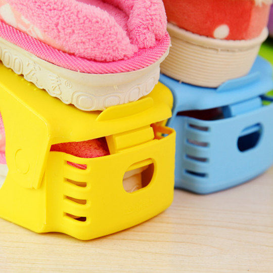 10pcs Shoe Rack organizador zapatos Shoe Organizer Space Saving Cabinet Closet Stand Shoes Storage Rack Shoe box