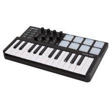 Worlde Panda midi keyboard Portable Mini 25 Key USB Keyboard and Drum Pad MIDI Controller