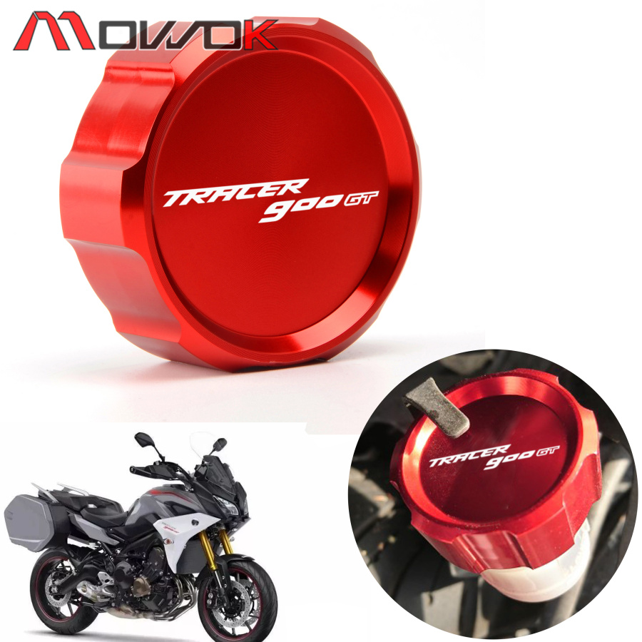 High quality For YAMAHA TRACER 900 GT Tracer900 GT 2018 2019 Motorcycle Accessories Rear Brake Fluid Reservoir Oil Cup CapHigh quality For YAMAHA TRACER 900 GT Tracer900 GT 2018 2019 Motorcycle Accessories Rear Brake Fluid Reservoir Oil Cup Cap