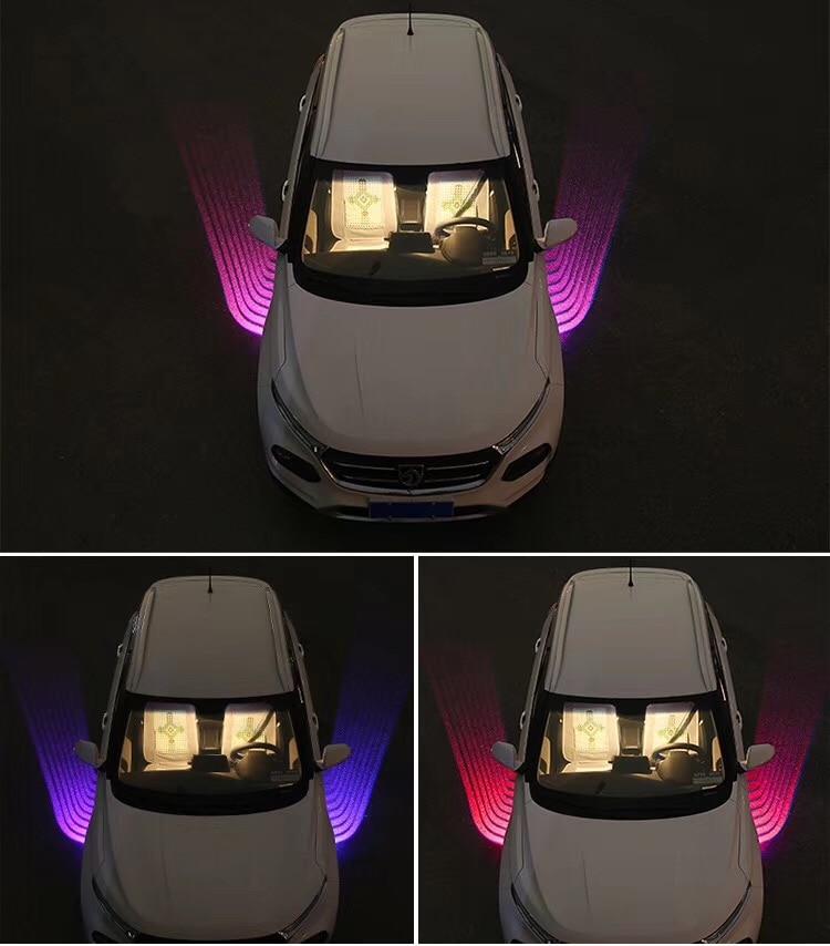 Qirun led Atmosphère De Voeux Décoratif Daylights De Frein Brouillard lampe Inverse Phare clignotants pour Suzuki Swift Swift + SX4