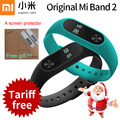 Original xiaomi mi Band 2 miBand 2 With OLED display touchpad Smart heart rate pedometer Fitness Bluetooth Wristband Bracelet